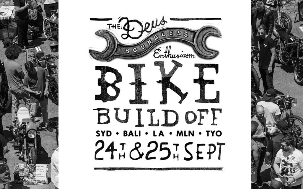 Deus Ex Machina Bike Build Off 2016
