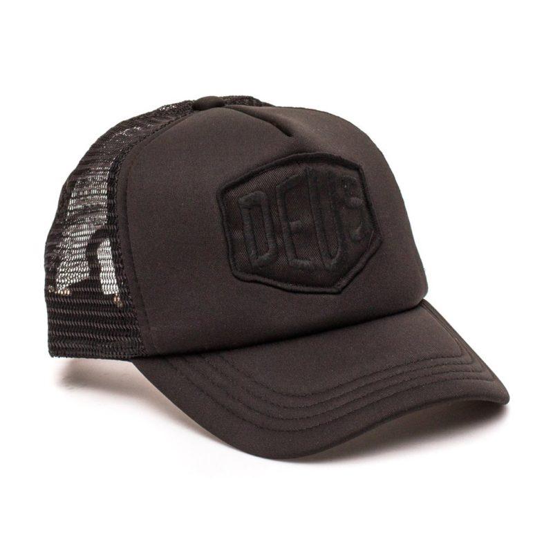 Deus Ex Machina - Baylands Trucker - Black/Black