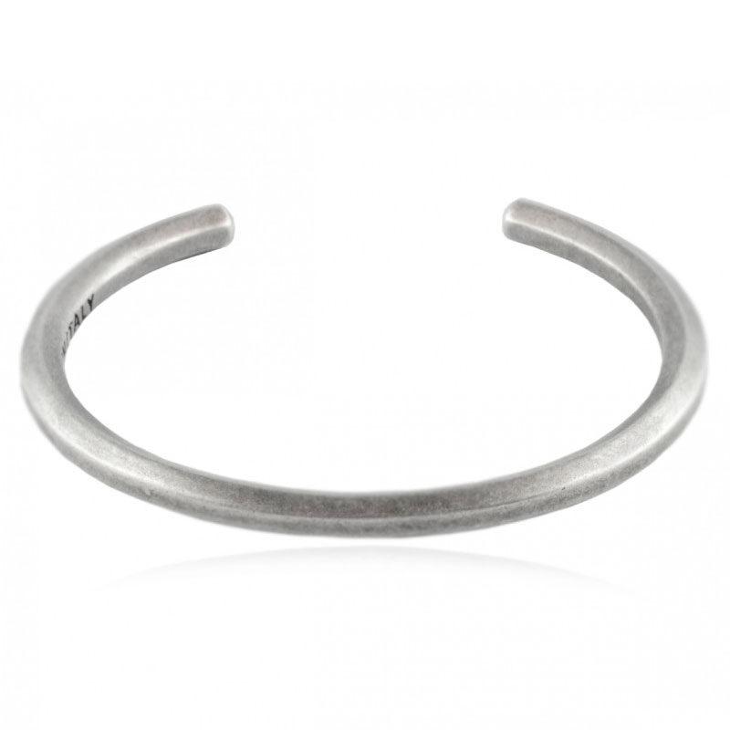 Rouille - Bangle - Vintage Silver
