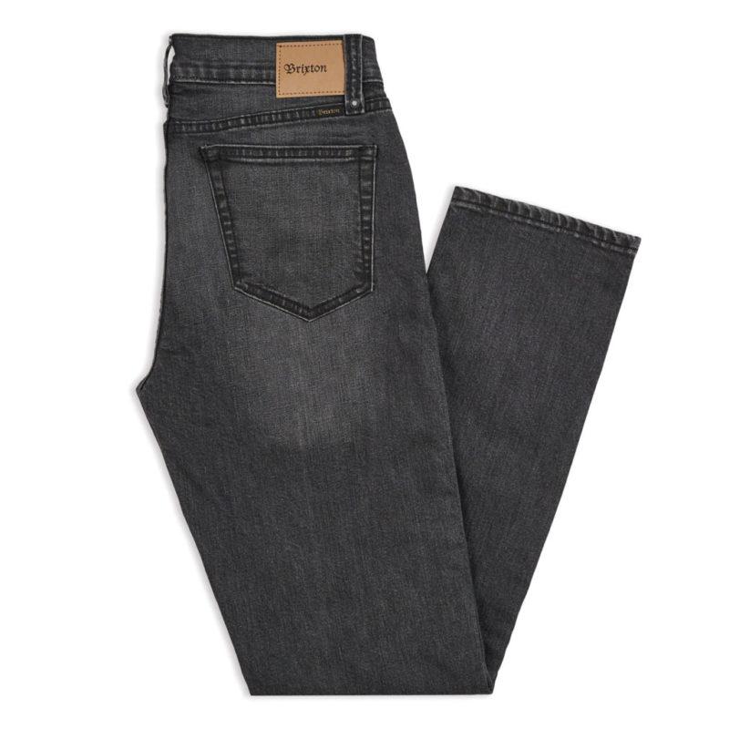 Brixton - Reserve Denim Pant - Worn Black