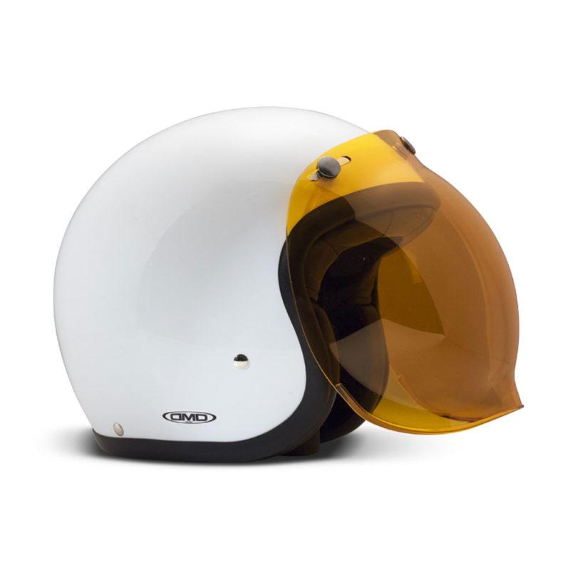 DMD Jet Visiera Bubble Visor - Orange