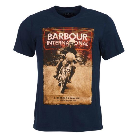 Barbour International - Archive Tee - Navy