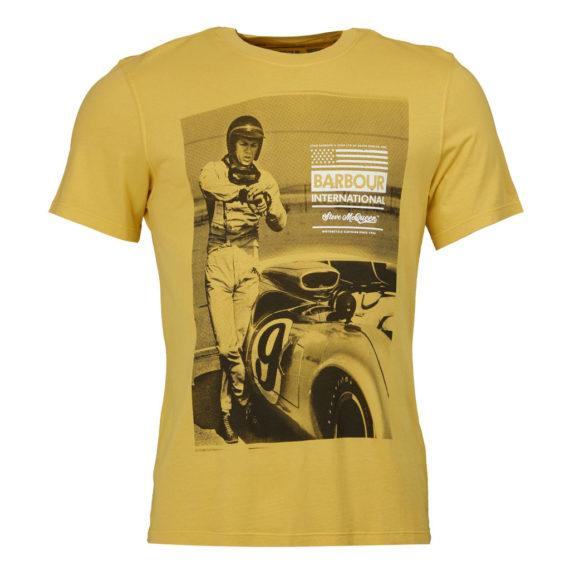 Barbour International - Steve McQueen Jake Tee - Washed Yellow