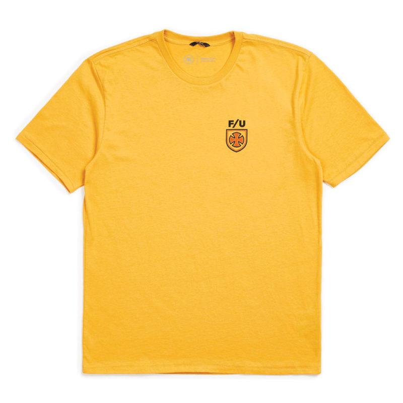 Brixton x Independent - Hedge Tee - Yellow