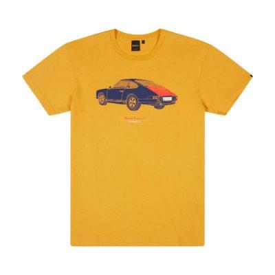 Deus Ex Machina - Niner Tee - Bright Yellow