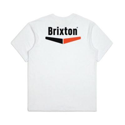 Brixton - Velocity Pocket Tee - White