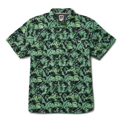 Reef - Beach Palm Shirt - Black