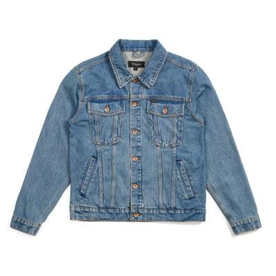 Brixton - Cable Denim Jacket - Faded Indigo