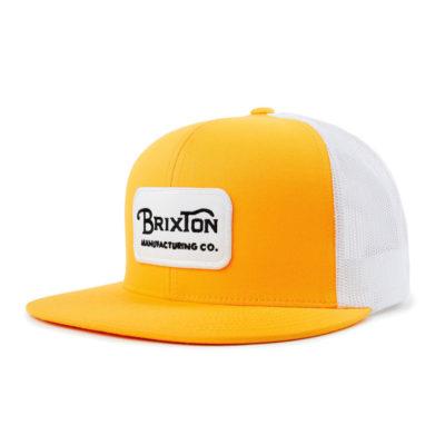 Brixton - Grade Mesh Cap - Nugget Gold