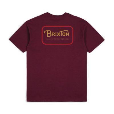 Brixton - Grade Tee - Burgundy