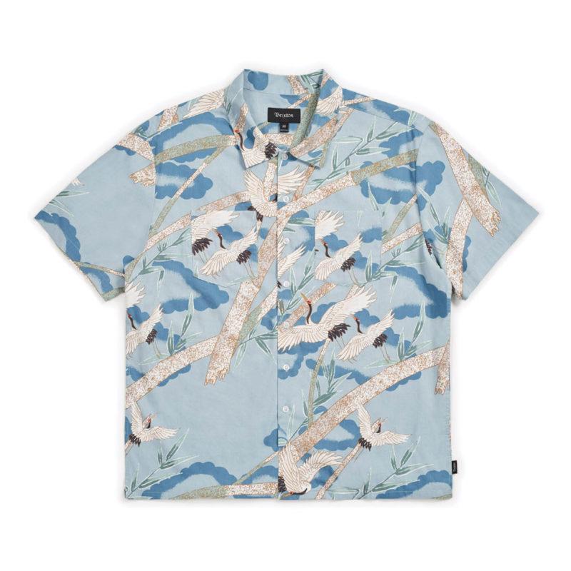 Brixton - Lovitz Woven Shirt - Blue Stone