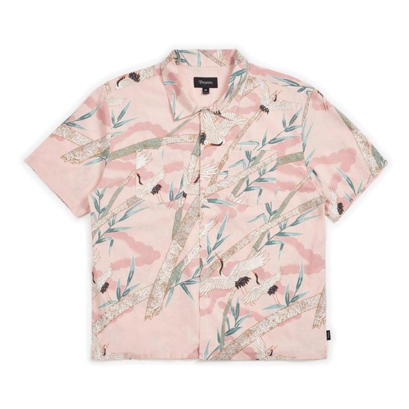 Brixton - Lovitz Woven Shirt - Dusty Pink