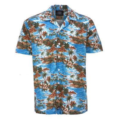 Dickies - Blossvale Shirt - Ocean