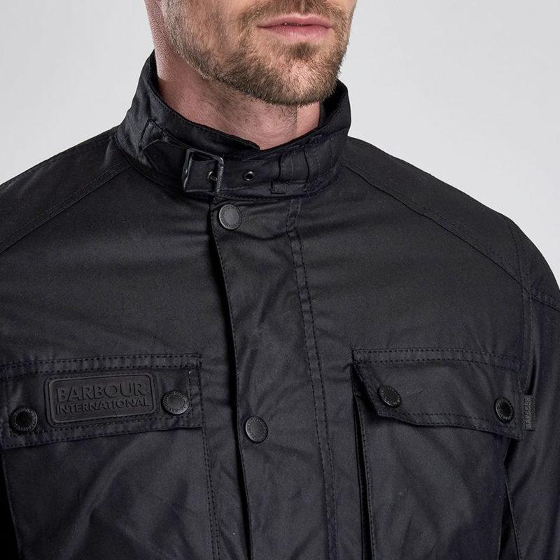 Barbour International - Blackwell Wax Jacket - Black