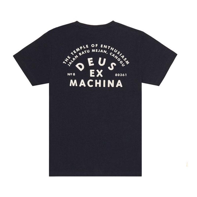 Deus Ex Machina - Canggu Pocket Tee - Midnight Blue