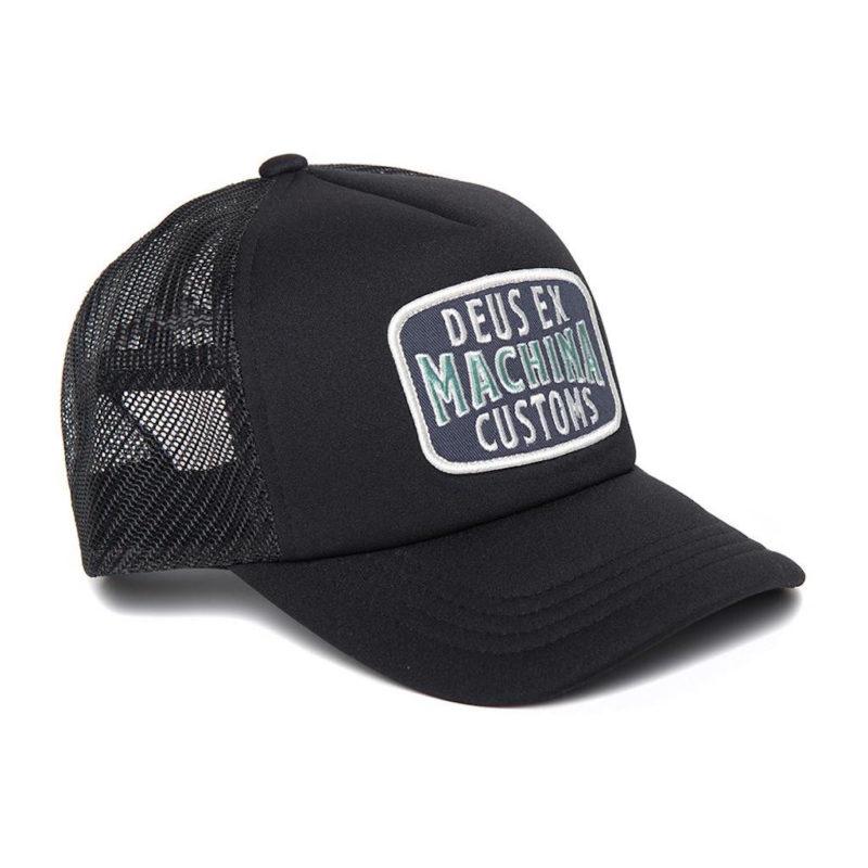 Deus Ex Machina - Title Trucker - Black