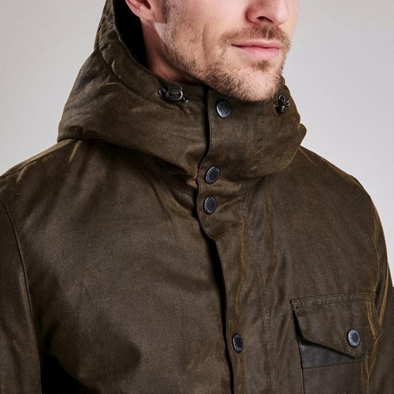Barbour International - Kevlar Wax Jacket - Olive