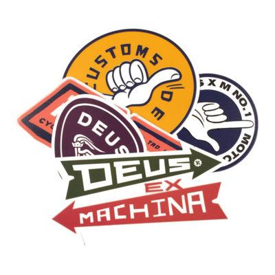 Deus Ex Machina - Sticker Pack