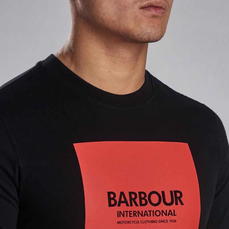 Barbour International - Block Tee - Black