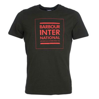Barbour International - Strike Tee - Jungle Green