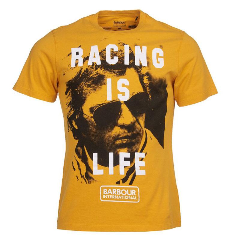 Barbour International - Steve McQueen Life Tee - Desert Orange