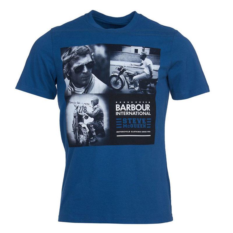 Barbour International - Steve McQueen Triple Tee - Washed Ink