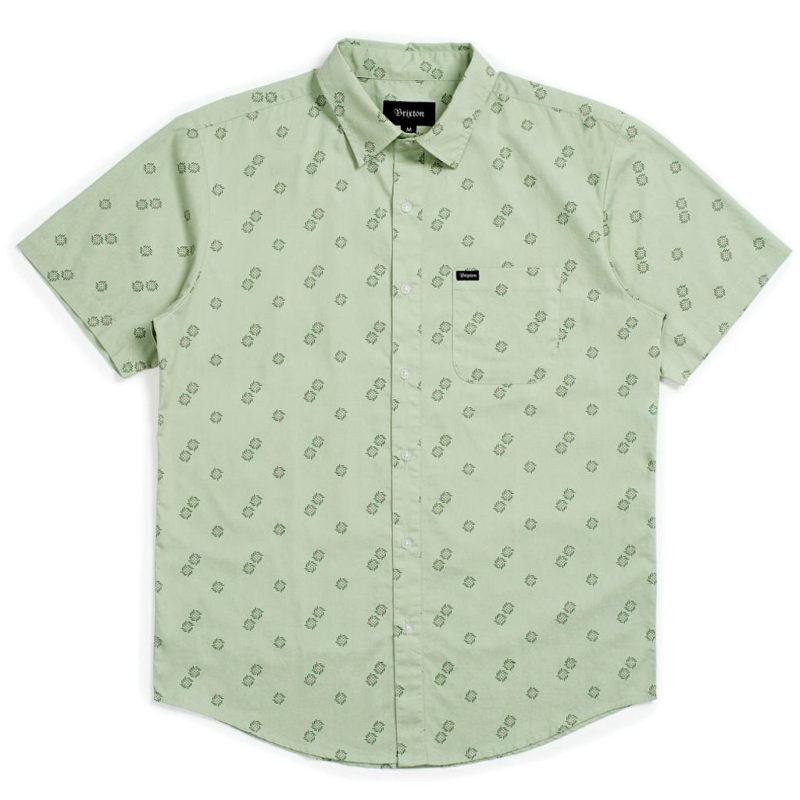 Brixton - Charter Woven Shirt - Basil