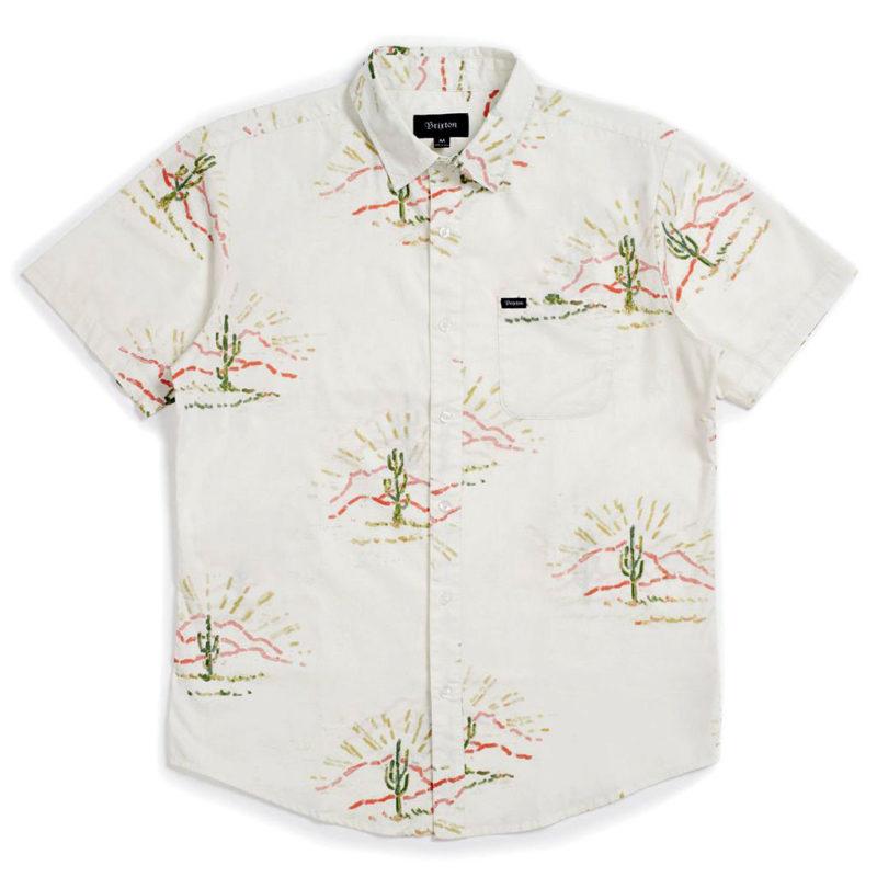 Brixton - Charter Woven Shirt - Dove