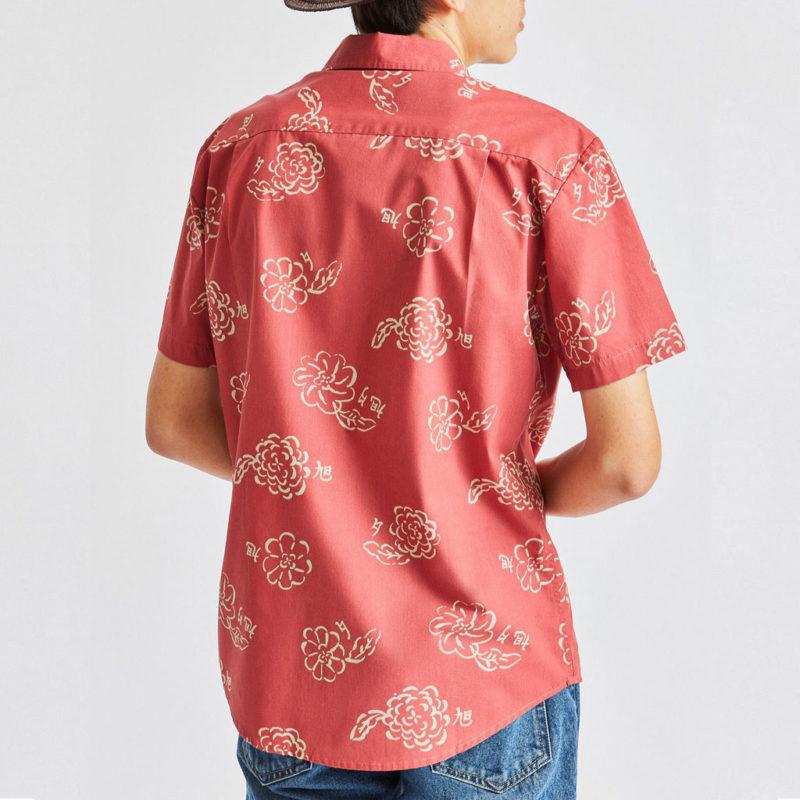 Brixton - Charter Woven Shirt - Lava Red