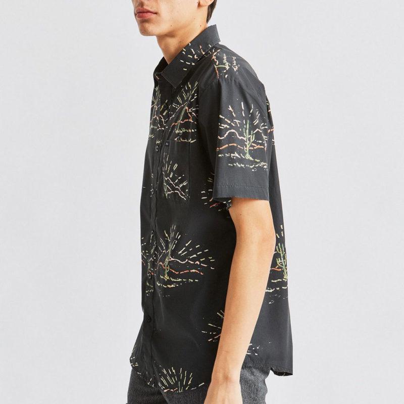 Brixton - Charter Woven Shirt - Washed Black