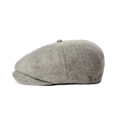 Brixton - Brood LW Snap Cap - Grey/Black