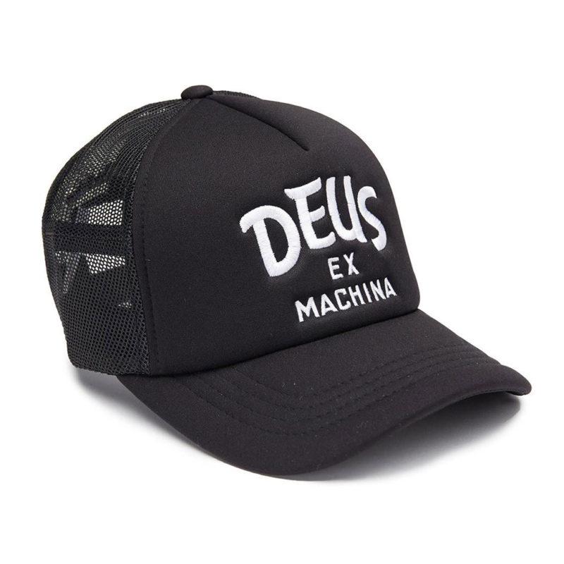 Deus Ex Machina - Curvy Trucker - Black