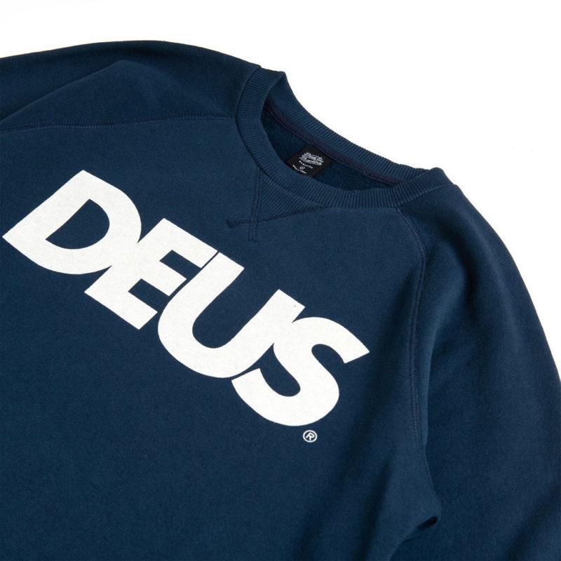 Deus Ex Machina - All Caps Crew - Navy