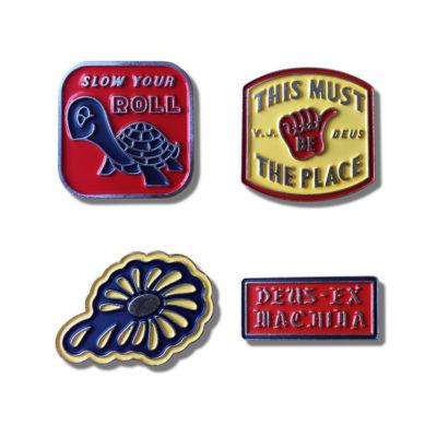 Deus Ex Machina - Souvenir Pins - Multicolour