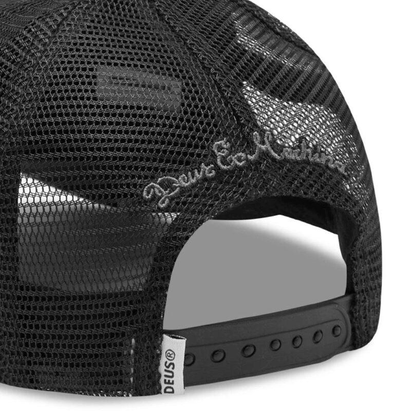 Deus Ex Machina - Woven Shield Trucker - Black