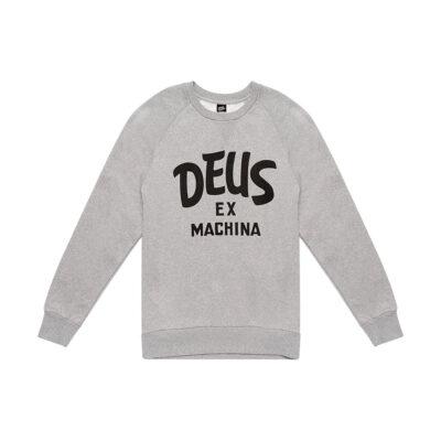 Deus Ex Machina - Curvy Crew - Vintage Grey Marl