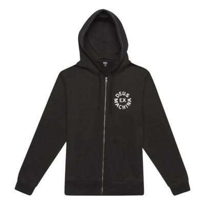 Deus Ex Machina - Circle Logo Hoodie - Black