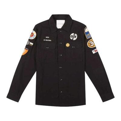 Deus Ex Machina - Monty Over Shirt - Black