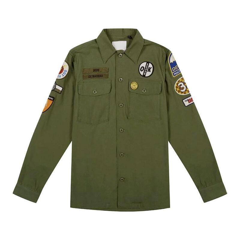 Deus Ex Machina - Monty Over Shirt - Clover