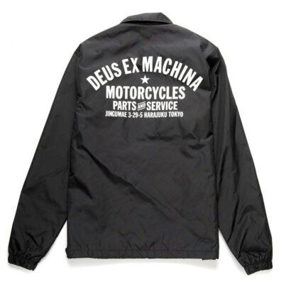 Deus Ex Machina - Tokyo Coach - Black