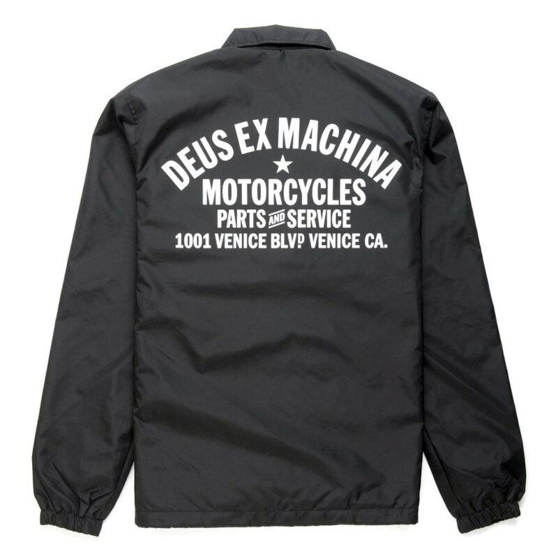 Deus Ex Machina - Venice Coach - Black