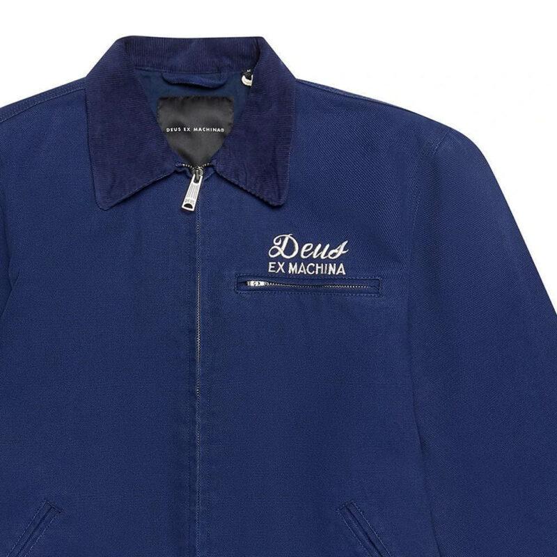 Deus Ex Machina - Workwear Jacket - Navy