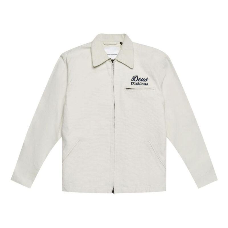 Deus Ex Machina - Workwear Jacket - White