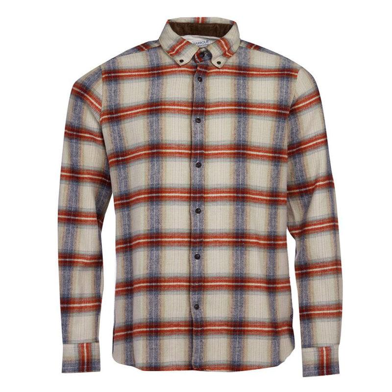 Barbour International - Bud Shirt - Brick Red