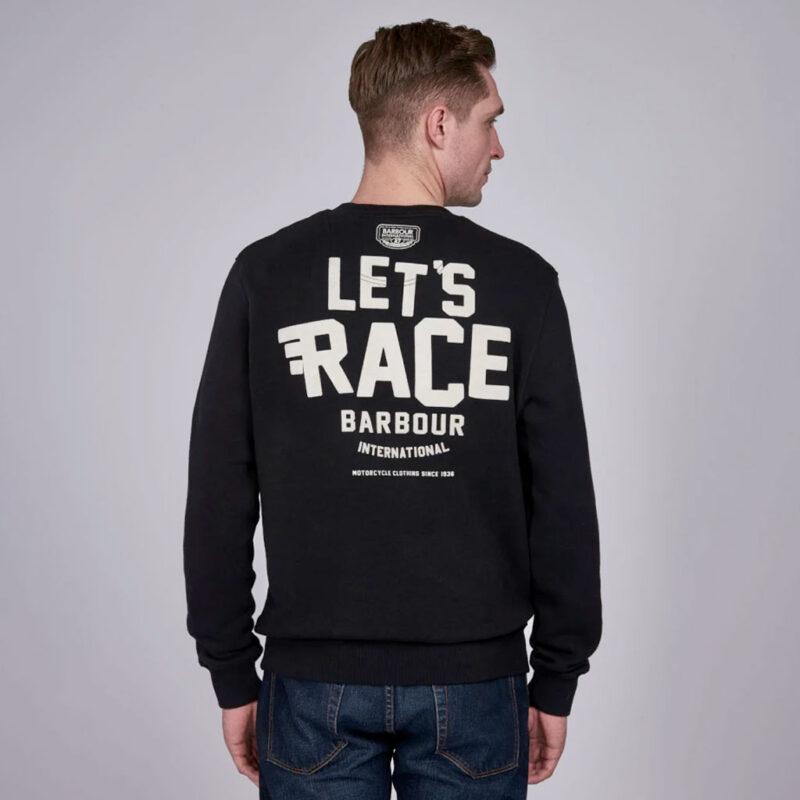 Barbour International - A7 Sweatshirt - Black