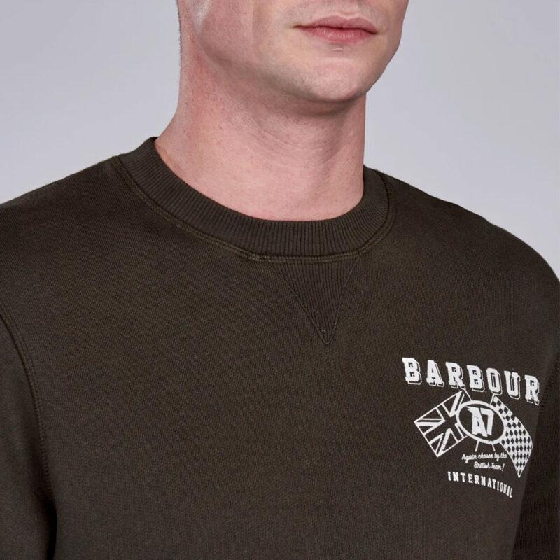 Barbour International - A7 Sweatshirt - Forest