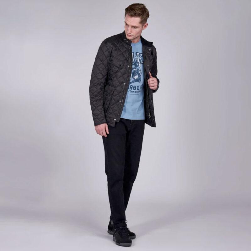 Barbour International - Ariel Quilt Jacket - Black