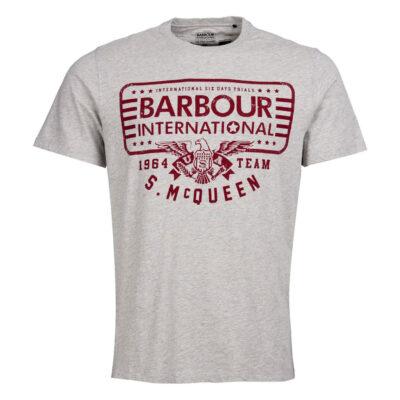 Barbour International - Eagle Tee - Grey Marl
