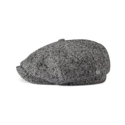 Brixton - Brood Baggy Snap Cap - Black/White