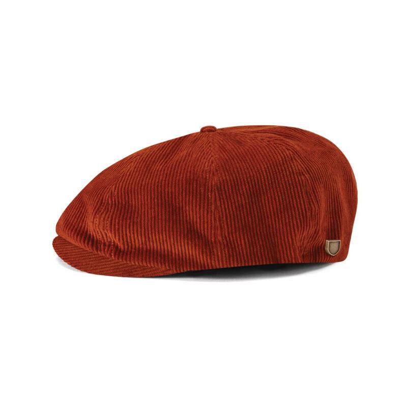 Brixton - Brood Snap Cap - Amber